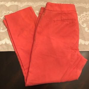 LOFT Julie Pink Cropped Trousers